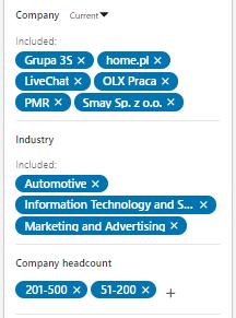 targetowanie na LinkedIn